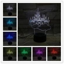 Lampara Holograma 3D Fantasia VAR060P