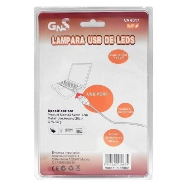 Lampara LED USB VAR017