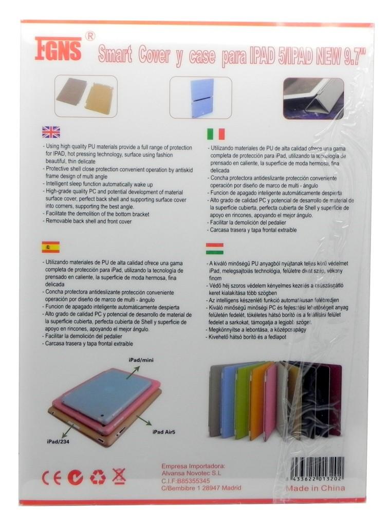 Funda Triptico Carcasa y Tapa Extraible para iPad 5/New 9.7
