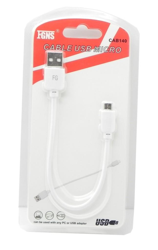 Cable USB Datos + Carga Micro USB CAB140