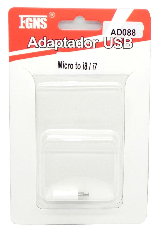 Adaptador Micro USB a iPhone 7/6 AD088