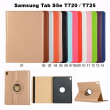 Funda Polipiel Giratoria Para Samsung Tab S5e T720 / T725 FPM377