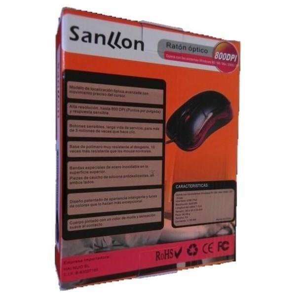 Ratón Óptico USB 6146 800dpi RCU036