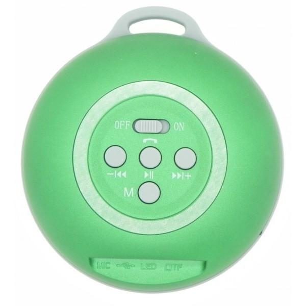 Mini Altavoz Manos Libres Bluetooth+MicroSD+Radio FM AAM071 (10uds.)