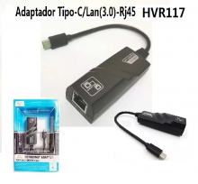 Adaptador Tipo-C/Lan(3.0)-Rj45 HVR117