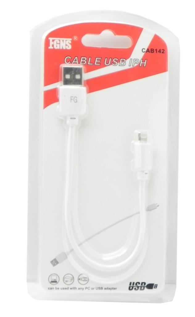 Cable USB Datos + Carga iPhone CAB142
