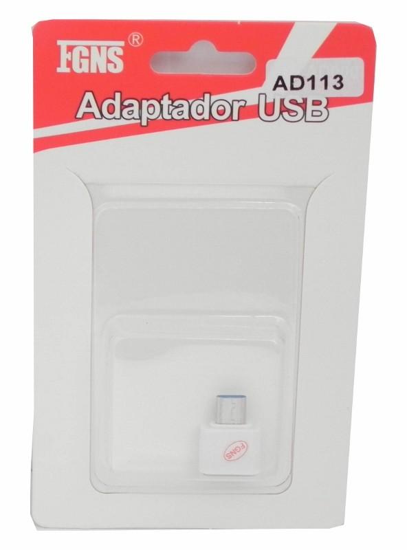 Adaptador OTG USB a Tipo C AD113