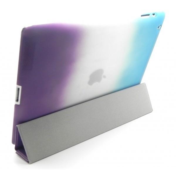 Funda Triptico Tapa y Carcasa Extraible para iPad 2/3/4 Multicolor FPM594