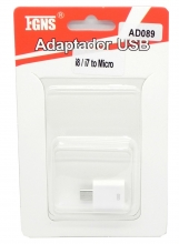 Adaptador iPhone 7/6 a Micro USB AD089