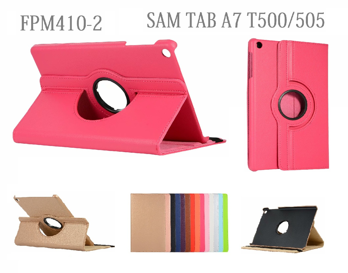 Funda Giratoria para SAM TAB A7 T500/505 FPM410