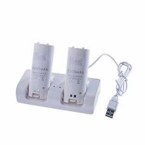Base de Carga para Nintendo Wii (+2 baterías 2800mAh) W003
