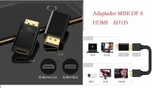 Adaptador DP a HDMI  AD135