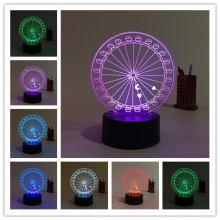 Lampara Holograma 3D Noria VAR060D