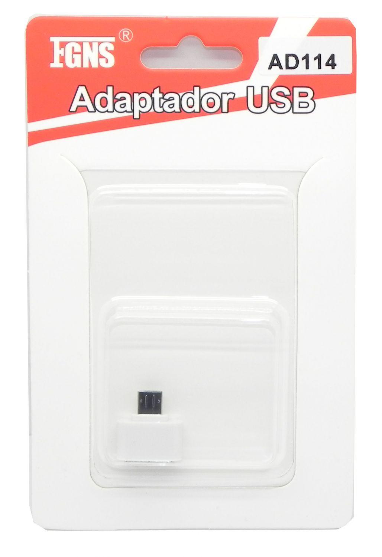 Adaptador OTG a Micro USB AD114