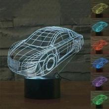 Lampara Holograma 3D Coche VAR060C