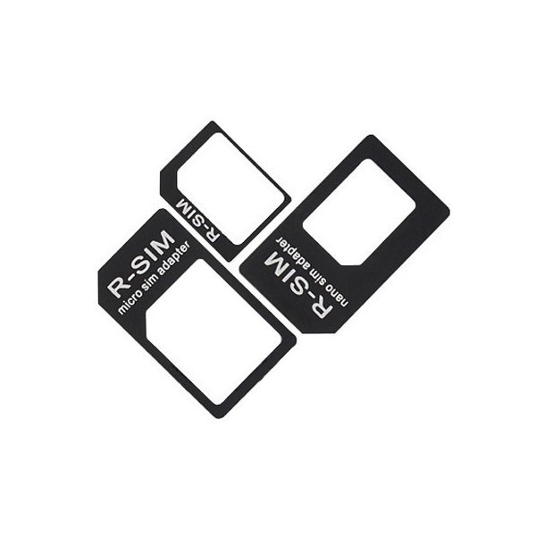 Adaptador Tarjetas 3en1 SIM/MicroSIM/NanoSIM (10und) IPH475