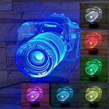 Lampara Holograma 3D Camara VAR060S