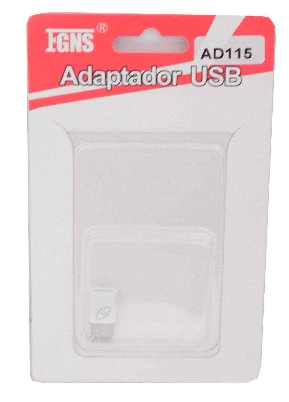 Adaptador OTG Micro USB a Tipo C AD115