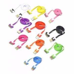 Cable Slim USB Datos+Carga para iPhone 4G/S CAB062