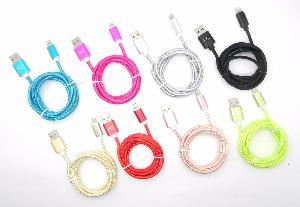 Cable Trenzado para iPhone 5/6/7