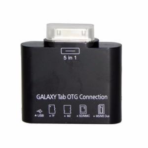 Adaptador 5en1 para Samsung Tab Lector/OTG SAM016