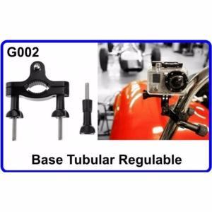 Base Tubular Regulable para Cámara Deportiva G002