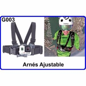 Arnes Ajustable para Cámara Deportiva G003