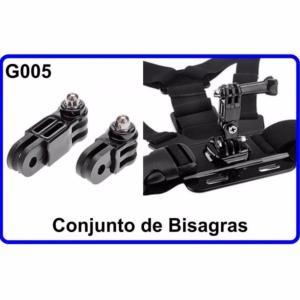 Conjunto de Bisagras para Cámara Deportiva G005