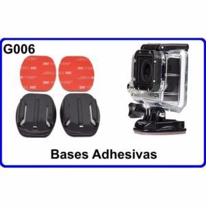 Bases Adhesivas para Cámara Deportiva G006