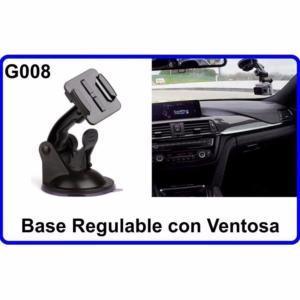 Base Regulable con Ventosa para Cámara Deportiva G008