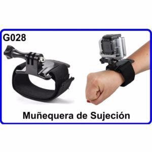 Muñequera de Sujeción para Camara Deportiva G028