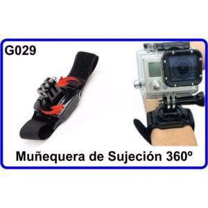 Muñequera de Sujeción 360?para Camara Deportiva G029