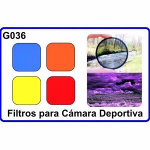 Filtro para Camara Deportiva Gopro Hero 3+/4 G036