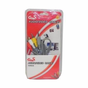 Cable Jack 3,5mm/RCA x3Macho 1,5metros HVR039